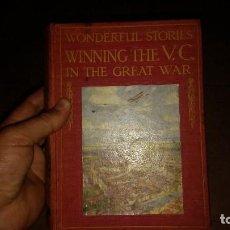 Militaria: STORIES FROM THE GREAT WAR GRAN LIBRO INFINIDAD DE LAMINAS 1916/ 300 OJAS CON FIRMA. Lote 116340615