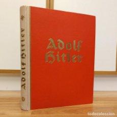 Militaria: ADOLF HITLER - DER FUHRER - SU HISTORIA - NAZISMO - ALBUM FOTOS - CROMOS. Lote 116365931