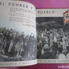 Militaria: HITLER, ALEMANIA EN SUS INSTITUCIONES SOCIALES, LIBRO CON MUCHAS FOTOGRAFIAS 1940. Lote 116719951