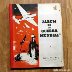 Militaria: 1945 ALBUM DE LA GUERRA MUNDIAL - SEGUNDA GUERRA MUNDIAL - CROMOS - EDICIONES ALVARO PEREZ. Lote 116739007