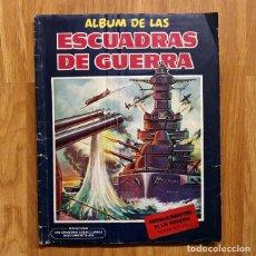 Militaria: ALBUM CROMOS - ESCUADRAS DE GUERRA. COMPLETO . Lote 116739275