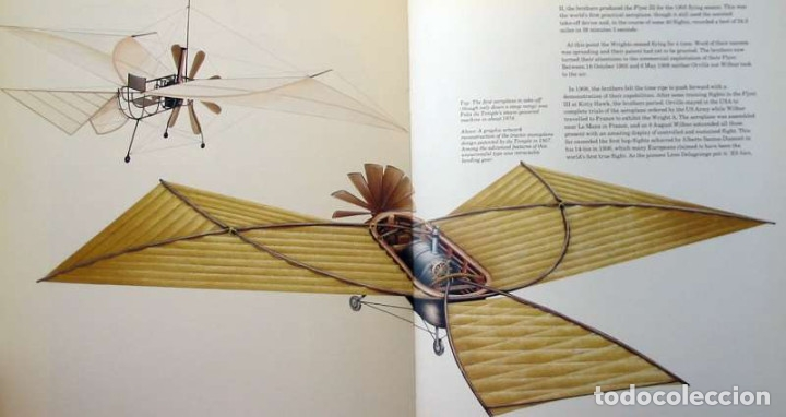 Militaria: FLIGHT - THE HISTORY OF AVIATION - JOHN BATCHELOR / CHRIS CHANT 1990 - VER INDICE Y FOTOS - Foto 8 - 116775611