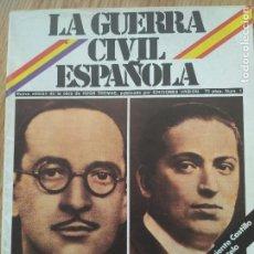 Militaria: LA GUERRA CIVIL ESPAÑOLA Nº 1. Lote 117134231