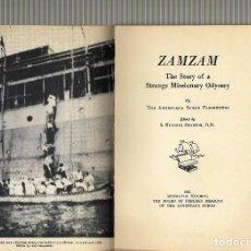 Militaria: ZAMZAM INGLES,1941 LA HISTORIA DEL CORSARIO ALEMAN TAMESIS,DE ESTE FAMOSO TRASTLANTICO. Lote 117770599