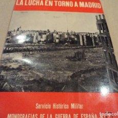 Militaria: MONOGRAFIAS DE LA GUERRA EN ESPAÑA LA LUCHA EN TORNO A MADRID. Lote 118398743