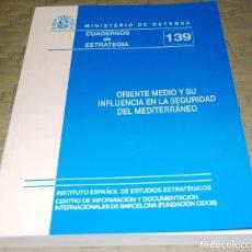 Militaria: ORIENTE MEDIO Y SU INFLUENCIA EN LA SEGURIDAD DEL MEDITERRÁNEO.. Lote 118432431