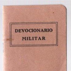 Militaria: DEVOCIONARIO MILITAR. REMIGIO VILARIÑO. AÑO 1937. Lote 118518494