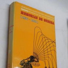 Militaria: MEMORIAS DE GUERRA 1936-1939, ALMIRANTE JUAN CERVERA VALDERRAMA. I MARQUES DE CASA-CERVERA, EDITORIA. Lote 120303919