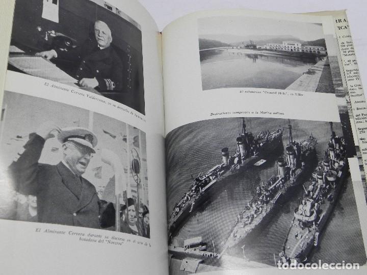 Militaria: MEMORIAS DE GUERRA 1936-1939, ALMIRANTE JUAN CERVERA VALDERRAMA. I MARQUES DE CASA-CERVERA, EDITORIA - Foto 3 - 120303919