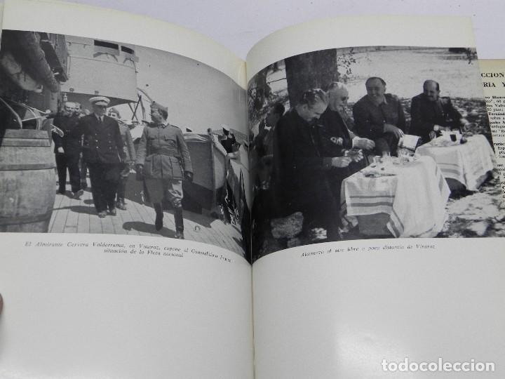 Militaria: MEMORIAS DE GUERRA 1936-1939, ALMIRANTE JUAN CERVERA VALDERRAMA. I MARQUES DE CASA-CERVERA, EDITORIA - Foto 6 - 120303919