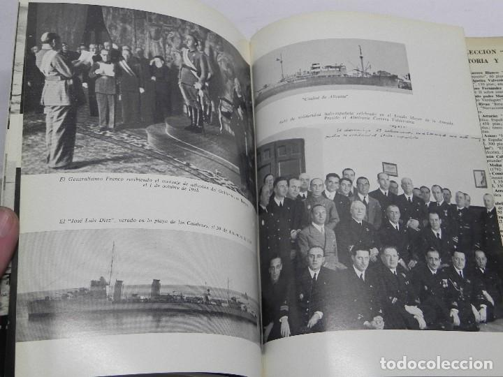 Militaria: MEMORIAS DE GUERRA 1936-1939, ALMIRANTE JUAN CERVERA VALDERRAMA. I MARQUES DE CASA-CERVERA, EDITORIA - Foto 7 - 120303919