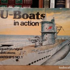 Militaria: U-BOATS IN ACTION. U-BOOTS-KRIEGABZEICHEN (SUBMARINE WAR BADGE). SQUADRON / SIGNAL PUBLICATIONS. Lote 120446855
