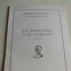 Militaria: LIBRO SERVICIO HISTÓRICO MILITAR. Lote 120721510