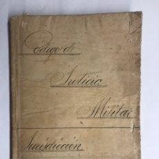 Militaria: GUARDIA CIVIL. CÓDIGO DE JUSTICIA MILITAR. JURISDICCIÓN DE GUERRA (1923-1931). Lote 120761179