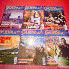 Militaria: LOTE REVISTAS HISTORIA DE LA GUERRA NÚMEROS 1-6. Lote 121108947