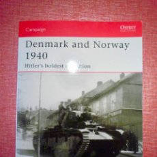 Militaria: OSPREY DENMARK AND NORWAY 1940 . Lote 121109623