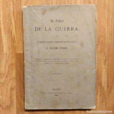 Militaria: EL JUEGO DE LA GUERRA 1881 - MAXIMO RAMOS - SIMULACION TACTICA - KRIEGSSPIEL - WARGAME. Lote 121496859
