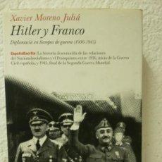 Militaria: HITLER Y FRANCO. Lote 121664467