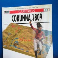 Militaria: OSPREY MILITAR CAMPAIGN 83 CORUÑA CORUNNA 1809. Lote 122271816