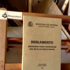 Militaria: REGLAMENTO: ABREVIATURAS Y SIGNOS CONVENCIONALES PARA USO DE LAS FUERZAS ARMADAS (1981). Lote 122547099