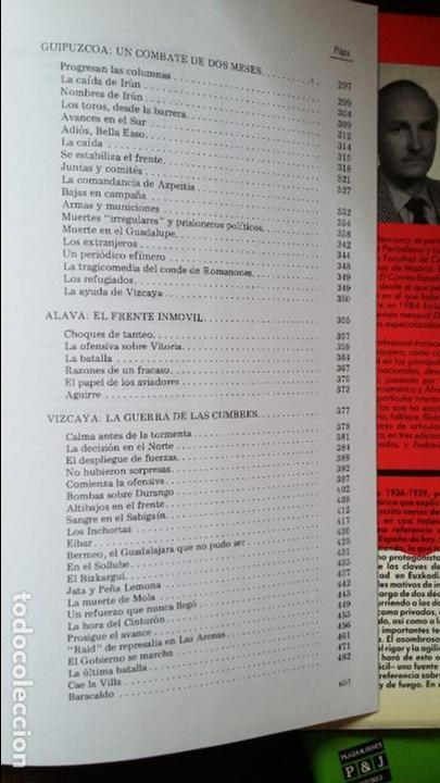 Militaria: Vicente Talon: Memoria de la Guerra de Euzkadi de 1936 - Foto 8 - 122674279