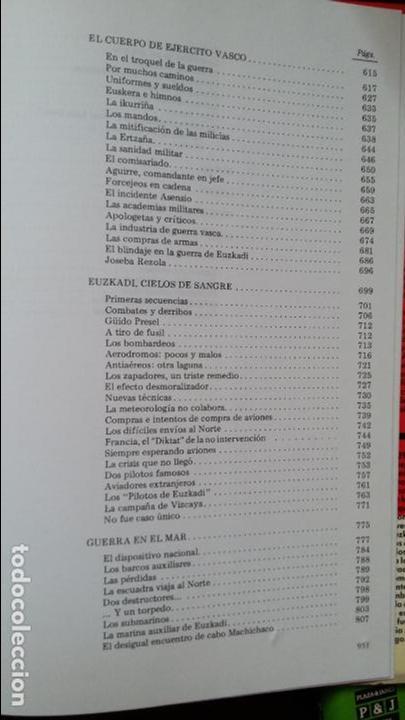 Militaria: Vicente Talon: Memoria de la Guerra de Euzkadi de 1936 - Foto 10 - 122674279