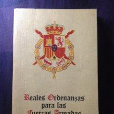 Militaria: REALES ORDENANZAS PARA LAS FUERZAS ARMADAS. MADRID 1979. Lote 123291942