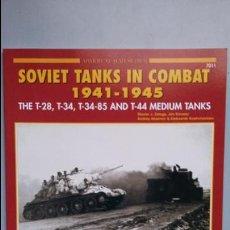 Militaria: SOVIET TANKS IN COMBAT 1941-1945. CONCORD. Lote 123480199