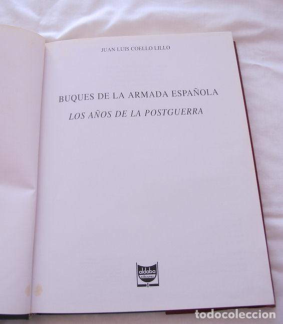 Militaria: BUQUES DE LA ARMADA ESPAÑOLA POSTGUERRA ALDABA MARINA - Foto 2 - 123675555