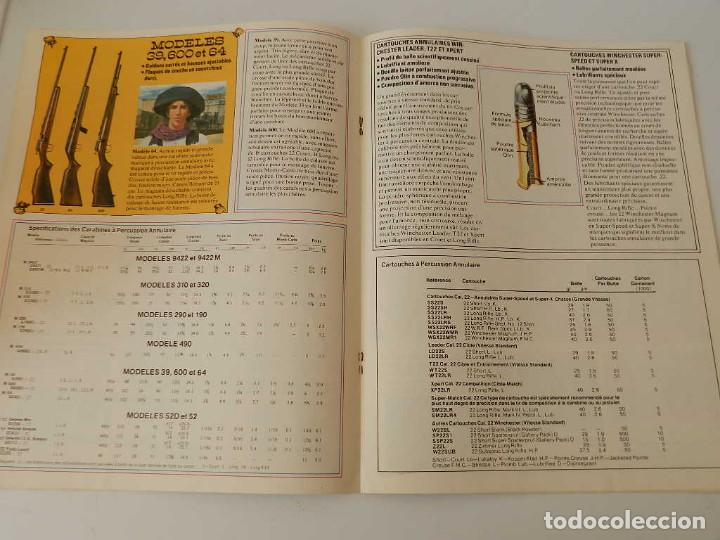 Militaria: 1974 WINCHESTER ARMES ET MUNITIONS CATALOGUE .- ARMA REVOLVER PISTOLA - Foto 6 - 125375967