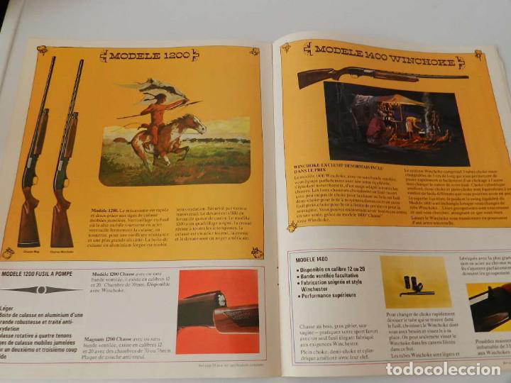 Militaria: 1974 WINCHESTER ARMES ET MUNITIONS CATALOGUE .- ARMA REVOLVER PISTOLA - Foto 8 - 125375967