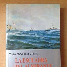 Militaria: LA ESCUADRA DEL ALMIRANTE CERVERA - VICTOR M. CONCAS Y PALAU. Lote 126647611