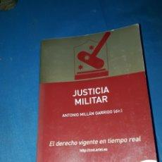 Militaria: JUSTICIA MILITAR 2°EDICION 2002-2003 ANTONIO MILLAN GARRIDO. Lote 126816750