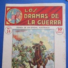 Militaria: DRAMAS DE LA GUERRA , EPIS. EMOCIONANTES N, 14 , PRIMERA GUERRA MUNDIAL. Lote 127010919