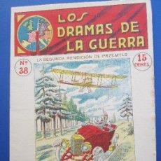 Militaria: DRAMAS DE LA GUERRA , EPISODIOS EMOCIONANTES N.38 , PRIMERA GUERRA MUNDIAL. Lote 127011207