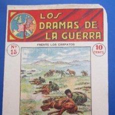 Militaria: DRAMAS DE LA GUERRA , EPISODIOS EMOCIONANTES , N.15 , PRIMERA GUERRA MUNDIAL. Lote 127011463