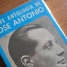 Militaria: BREVE ANTOLOGIA DE JOSE ANTONIO. Lote 127609415