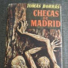 Militaria: CHECAS DE MADRID - TOMÁS BORRÁS. Lote 127674747