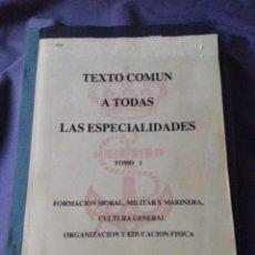 Militaria: ANTIGUO LIBRO ARMADA ESPAÑOLA AÑOS 70-80 (ARMAMENTO) VER FOTOS. Lote 128158903