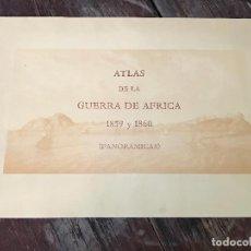 Militaria: ATLAS DE LA GUERRA DE ÁFRICA 1859 A 1860. REEDICIÓN DE 1985 - 12 LAMINAS 65 X 44. Lote 128389943