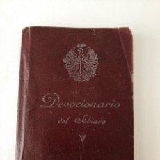 Militaria: DEVOCIONARIO DEL SOLDADO 1966. Lote 128419331