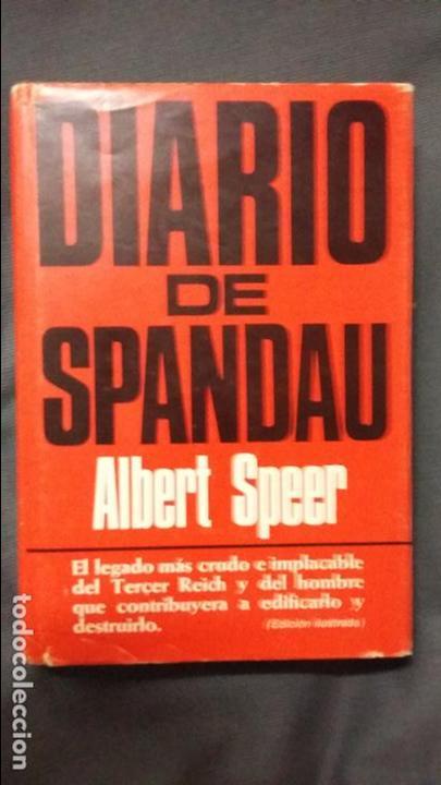 ALBERT SPEER. DIARIO DE SPANDAU (Militar - Libros y Literatura Militar)