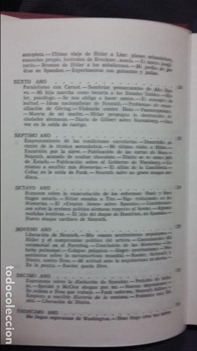 Militaria: Albert Speer. Diario de Spandau - Foto 3 - 128438251