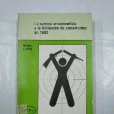 Militaria: LA CARRERA ARMAMENTISTA Y LA LIMITACION DE ARMAMENTOS EN 1983. HECHOS Y CIFRAS. TDK350. Lote 128869183