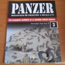 Militaria: PANZER: FASCICULO Nº 3 - LOS BLINDADOS ALEMANES DE LA SEGUNDA GUERRA MUNDIAL (ALTAYA). Lote 129043091