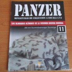 Militaria: PANZER: FASCICULO Nº 11 - LOS BLINDADOS ALEMANES DE LA SEGUNDA GUERRA MUNDIAL (ALTAYA). Lote 276499618