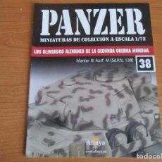 Militaria: PANZER: FASCICULO Nº 38 - LOS BLINDADOS ALEMANES DE LA SEGUNDA GUERRA MUNDIAL (ALTAYA). Lote 129047095