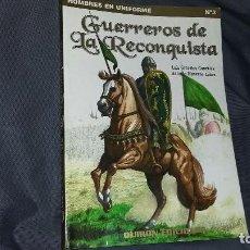 Militaria: GUERREROS DE LA RECONQUISTA. QUIRON EDICIONES. Lote 129078067