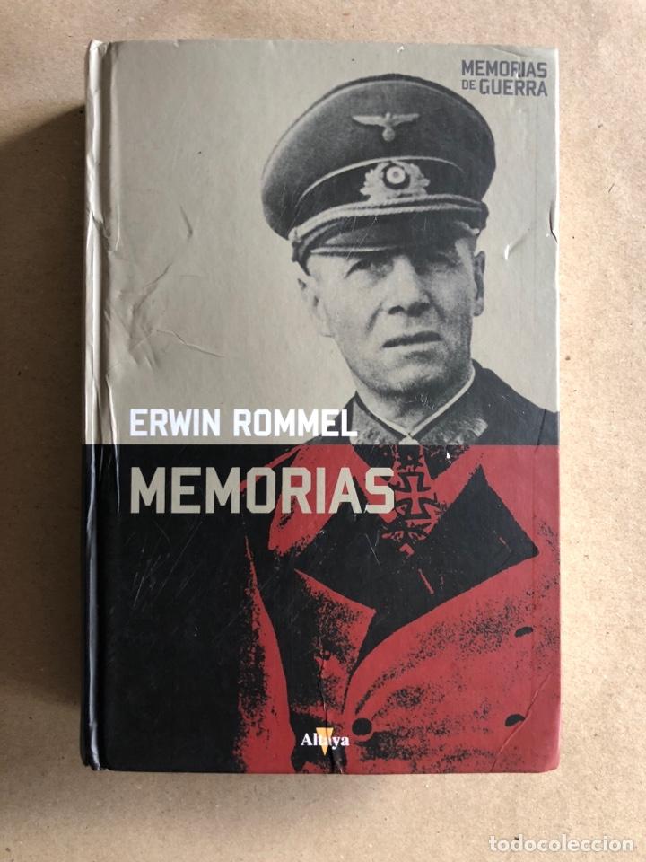 ERWIN ROMMEL, MEMORIAS. ED. ALTAYA (2008). COLECCIÓN MEMORIAS DE GUERRAS. (Militar - Libros y Literatura Militar)