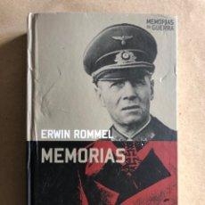 Militaria: ERWIN ROMMEL, MEMORIAS. ED. ALTAYA (2008). COLECCIÓN MEMORIAS DE GUERRAS.. Lote 129369071